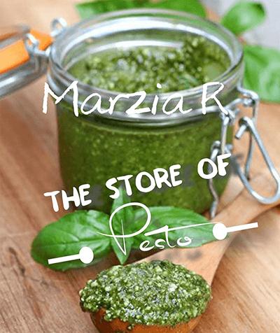 Marzia R. - The Store of pesto logo