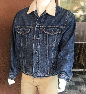 retrovita 5 terre giacca jeans levis